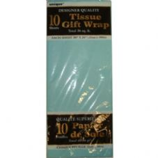 Baby Blue Tissue Paper 10 Sheet Pack